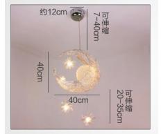 Luminoso della lampada, camera moderna, minimalista terrazza sala sospensione bar apparecchio di illuminazione sala da pranzo creativo Chandelier personalizzata bambini