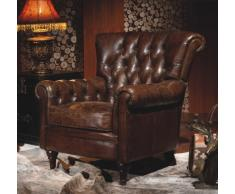 [Prdct] Chesterfield in vera pelle Settle Industrial Chic poltrona vintage Clubchair