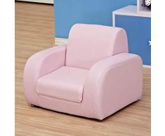 Poltroncina Per Bambini Mini Poltrona Divano Per Bambini In Grado Di Sedersi E Dormire Cute Baby Seat Seat Rivestimento Sfoderabile Lavabile In Tessuto,Blue(PVC)