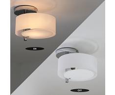 Kusun® Lampade a soffitto navata di lusso Monotesta Riferisce il Lama bianco camera da letto / sala da pranzo / terrazza / corridoio ecc... Lampadario a bracci CL8199-1T-A