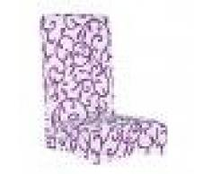 MagiDeal Coprisedia Sgabello Copertina Fodera Rimovibile Tratto Breve Sala da Pranzo Casa Decorazione - 5