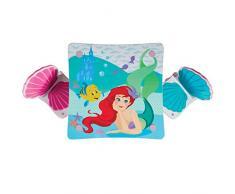 Disney Principesse Ariel-Tavolo per Bambini con 2 sedie, 52.5x63x63x
