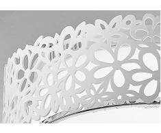 CHJK BRIHT Retrò Villaggio Americana continentale luci a soffitto Per Soggiorno Camera da letto cucina in Hotel per la camera dei bambini Office Creative luci a soffitto lampadario luce LED 370mm di altezza 115mm, bianco
