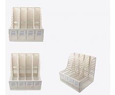 ZWL Ufficio Shelf File 4 Colonne Rack file di archiviazione rack File Bar file carrello Scaffalature Fashion. z ( Colore : Grigio )