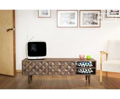 Mobile TV Balkis in stile nordico