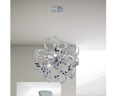 Plafoniera LED Soffitto Lampadario Soggiorno Lampadario Cristallo (K9 Crystal) Lampadario Bagno Lampadario Cameretta Bambini Plafoniera Soffitto Cristallo