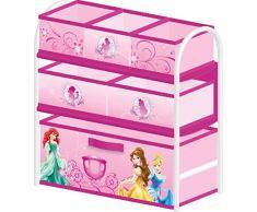 Delta Disney Princess Scaffale di metallo per bambini