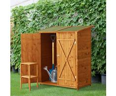 Armadio da giardino acquista armadi da giardino online - Armadio ripostiglio da esterno in legno ...