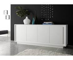 Credenza Moderna Corridoio : Credenze moderne color bianco da acquistare online su livingo