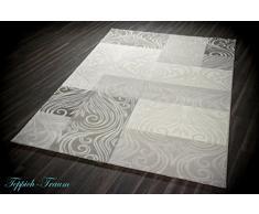 Tappeto Designer Tappeto moderno tappeto da salotto con Glitzergarn tappeto  di lana con motivo a diamante 3bddcee545c3