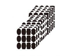Etichette per lavagna, 156 pezzi impermeabili lavagna, kit di adesivi riutilizzabili per organizzare la cucina, etichette di gesso rimovibili per decorare la vostra dispensa e lufficio