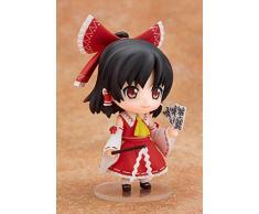 No Alta 10CM Progetto Orientale Hakurei Reimu Q Versione Mobile Cambia Volto Scatola Scultura Regalo Modello Opera Grafica Anime