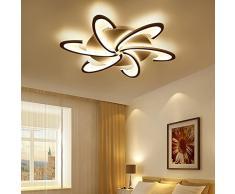 TINS 72W LED Lampada da soffitto Moderna Calda Lampada da soffitto bianca Soggiorno Lampadario Camera da letto, Illuminazione della stanza Lampada da soffitto AC 220V-240V
