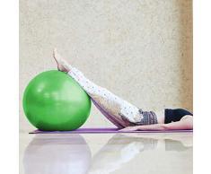 HUANGXIU Palla per Esercizi Pre-Parto Ball, Ball Chair, Yoga Pilates Balance Ball con Pompa,verde,60cm