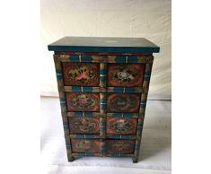 Antica Farmacia armadietto armadio ufficio armadio Apotheke Credenza cassettiera – comò armadio con 14 cassetti breite66 X hoehe114 cm