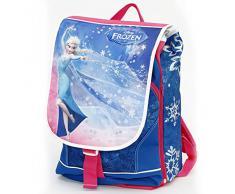 Giochi Preziosi - Frozen Zaino Scuola, Estensibile, con Luci, Orologio Digitale in Omaggio [Novità 2015]