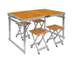Tavolino pieghevole acquista tavolini pieghevoli online su livingo - Tavolo pieghevole a valigia ...