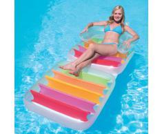 Bestway Poltrona materassino gonfiabile ripieghevole mare piscina spiaggia 43023