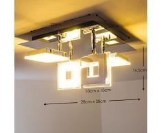 Plafoniera a faretti LED Krakau - 4 x 4,5 Watt - 1400 Lumen - Biano caldo [Classe energetica A]