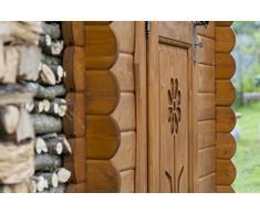 Casetta in legno Rustica 1.5x1.5 LA PRATOLINA di qualità La Pratolina ad uso ricovero attrezzi, scaffalatura, serra piante