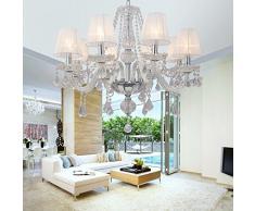 OOFAY LIGHT® L'elegante di alta qualità lampada lampadario di cristallo cristallo soggiorno 8 camere da letto lampadario di cristallo lampadario di cristallo ristorante