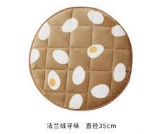 EFRC Cuscino rotondo tappezzeria sgabello pad rotondo da pranzo cuscino per sedie cuscino antiscivolo,17