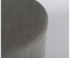AMARIS Elements OT011, 4, SR imbottitura 45 x 45 cm sgabello rotondo S, grigio