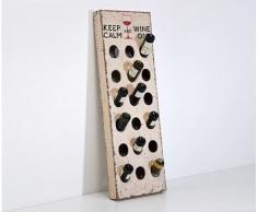 Porta Vintage 140 cm Used Look scaffale porta-bottiglie by Kare