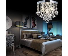 Plafoniere Per Sala Da Pranzo : Lampadari in cristallo color argento da acquistare online su livingo