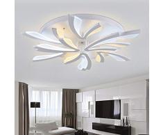 Moderno LED Soffitto luci soggiorno camera da letto balcone Corridoio lampada da parete Lampadario in ferro , 8 head 80w