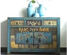 opium outlet Cinese credenza credenza, Stile Vintage Shabby Chic, Stile coloniale, Motivi Design 5