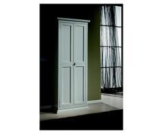 Lo Scrigno Arredamenti, Armadio Porta Scarpe Classico Laccato Bianco L886/Fl