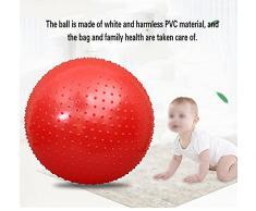 RUIX Esercizi Pre-Parto Ball, Ball Chair, Yoga Pilates Balance Ball Con Pompa,Green,L