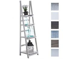 Scaffale a scala acquista scaffali a scala online su livingo for Ikea scaletta bagno
