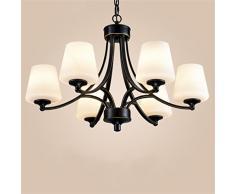 Ristorante creativa pastorale soggiorno lampadario paese americano da letto in ferro battuto buona qualità luci