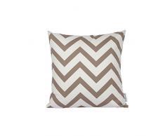 Dongguandong Comoco® - Set di 2 federe per cuscini, fantasia geometrica, tela decorativa per cuscini dei divani, Camel, 30x45cm