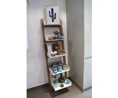Scaletta In Legno Per Bagno : Scaffale a scala acquista scaffali a scala online su livingo