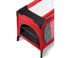 Hauck 598108 - Mini guardaroba per lettino da viaggio Travelcot da 60 cm, colore: Nero