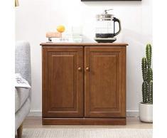Credenze Inizio Cupboard Buffet Sala da Pranzo Cucina Bagagli credenza Antica impilabile Cabinet Soggiorno Bagagli (Color : Light Brown, Size : 67x35x63cm)