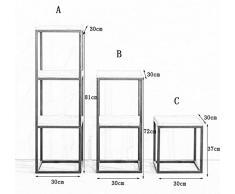 ZWL Scaffali per scaffale per scaffale per scaffale a scaffale in multistrato multistrato in quadrato Fashion. z ( dimensioni : A )