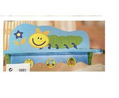 Atosa Scaffale/appendiabiti per bambini in legno. ata42769