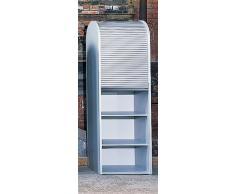 KLENK Collection - documenti armadio - armadio a serranda colore a scelta bianco
