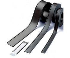 Etichette magnetiche per scaffalature e arredi metallici - Profili a C / etichette magnetiche, larghezza 10 mm, venduto al metro