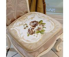 DELLT-Cinese sedia fresco cuscino pad di lusso cinese tavolo da pranzo in legno sgabello cuscino pad pad sedia