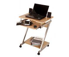 Carrello/scrivania porta computer