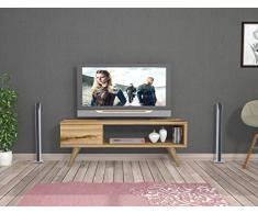 MAYA Mobile TV - Naturale - Porta TV Lowboard in un design moderno