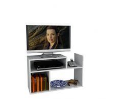 CARICA Mobile TV - Bianco - Porta TV Lowboard - Set Soggiorno in un design moderna