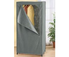 WENKO 4381710100 Guardaroba Libertà in tessuto traspirante, 75 x 150 x 50 cm, colore: Grigio