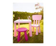 MAMMUT IKEA-Tavolino per bambini, colore: rosa chiaro