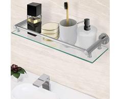 Scaffale per bagno acquista scaffali per bagno online su - Mensole bagno senza forare ...